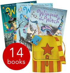 Winnie The Witch Collection and Satchel - 14 Books - Paperback - 9780192736895 - Valerie Thomas and Korky Paul