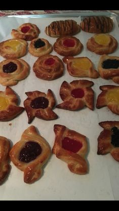 Made pastries at school