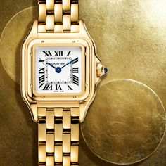 An exclusive preview of the new Panthère de Cartier watch on the opening day of SIHH.