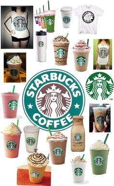 """""""starbucks"""" by wkrbears ❤ liked on Polyvore"""