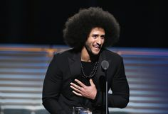 Colin Kaepernick receives the SI Muhammad Ali Legacy Award during SPORTS ILLUSTRATED 2017 Sportsperson of the Year Show on December 5, 2017 at Barclays Center in New York City. - SPORTS ILLUSTRATED 2017 Sportsperson of the Year Show