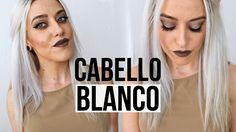 COMO TENER EL CABELLO BLANCO   2 formas de matizar el pelo blanco, decol...