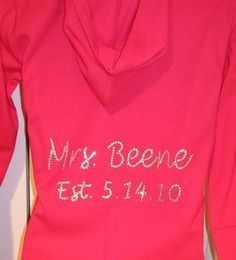 Hoodie with Name & Date