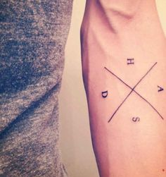Cool design for initials of children, family members, or friends