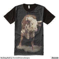 Bucking Bull All-Over Print Shirt