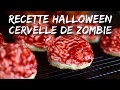 RECETTE HALLOWEEN CERVELLE DE ZOMBIE CHOCOLAT ET FRUITS ROUGES - YouTube