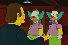 Can You Tell Which One Is Homer Simpson And Which One Is Krusty The Clown?