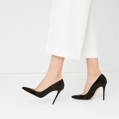 LIMITED EDITION LEATHER HIGH HEEL SHOES DETAILS 69.95 EUR from Zara