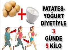 Potato Yogurt Diet that Loses 5 Pounds in 3 Days - Eat Recipes Lose 5 Pounds, Lose Weight, Health Fitness, Lost, Workout, Plank, Istanbul, Crafts, Nativity Scenes