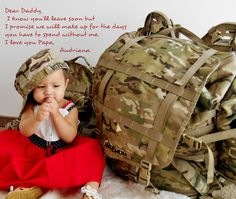 deployment letter to daddy
