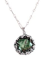 Luxe French Monte Carlo Swarovski Crystal Necklace Sea $48