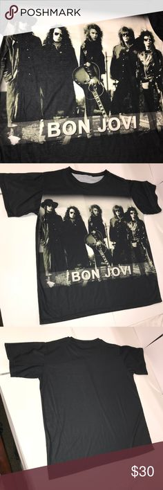 abfc9bfdeff Bon Jovi T-shirt Bon Jovi t-shirt with the band on the front