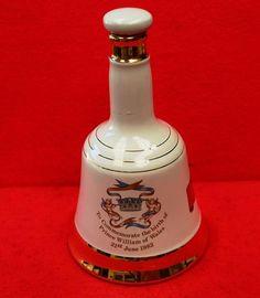 Vintage Commemorative Porcelain Decanter from Bells Scotch Whisky