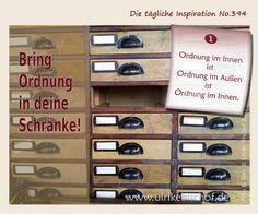 Die tägliche Inspiration No.394 www.inspirationenblog.wordpress.com www.ulrikebischof.de