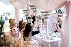 Princess Tea Birthday Party Ideas | Photo 1 of 14 | Catch My Party