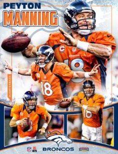 Peyton Manning Denver Broncos...Awesome collage photo