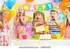 Стоковые фотографии и изображения Children Party | Shutterstock