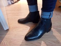 My new Chelsea Boots from Hessnatur <3