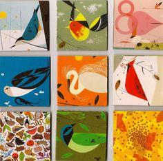 Abstract birds