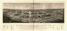 Vintage Map of St Louis Missouri 1904 St Louis County Canvas Art - x The View Show, St Louis County, City Map Poster, Photo Maps, St Louis Mo, City Maps, World's Fair, Custom Posters, Cartography