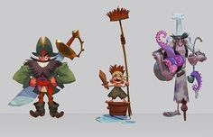 Character design for animation courses on Behance