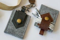 iPod nano 7G * ram LEATHER & FELT case / extra thick felt / Custom Made