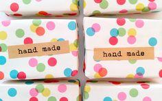 Jabón limon hierbabuena Jabón natural hecho a mano Handmade soap