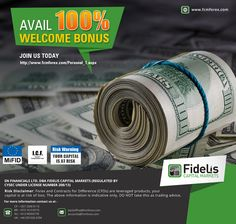 Avail 100 % welcome bonus. Join us today http://www.fcmforex.com/Personal_1.aspx