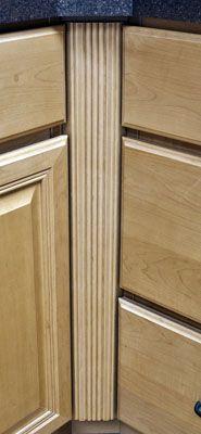 Inside Corner Filler Cabinet Kitchen Ideas Pinterest And