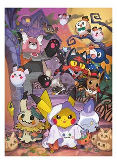 The Pokemon team Pokemon Legal, Pokemon Funny, Pokemon Memes, All Pokemon, Pokemon Halloween, Anime Halloween, Ghost Pokemon, Pokemon Fan Art, Pikachu Pikachu