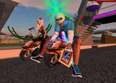 Shoppingtour mit Minibike bei ALDI