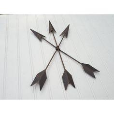 Arrow Decor Bronze Arrow Bohemian Decor arrow/tribal... ($14) ❤ liked on Polyvore featuring home, home decor, wall art, home & living, home décor, silver, tribal home decor, bronze home decor, metallic wall art and girls wall art