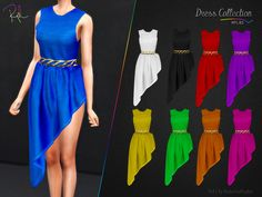 RobertaPLobo's Dress Collection RPL83 Sims 4, Die Sims, Dress Collection, Female, Formal Dresses, Clothes, Fashion, Outfits, Dresses For Formal