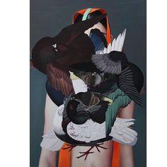 Song of Ancient Birds by Ling Jian #contemporaryart #China