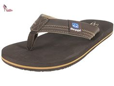 Beppi 214263 men's beach glisse string - Marron - marron, 40 - Chaussures  beppi (