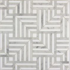 Liaison Mulholland Small x mosaic in Silver Blend Ann Sacks Floor Texture, Tiles Texture, Stone Mosaic, Stone Tiles, Ceramic Mosaic Tile, Marble Mosaic, Floor Design, Tile Design, House Design