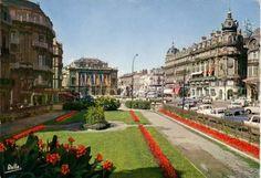 Montpellier - Place de la Comédie - 1967