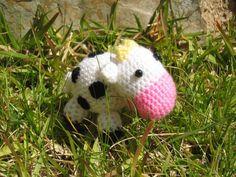 Amigurumi Mini-Vaca en crochet