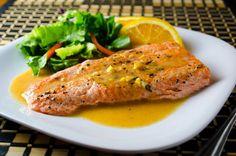 Sear-Roasted Halibut with Blood Orange Salsa | Yummers! | Pinterest ...