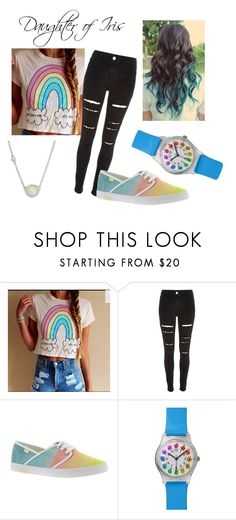 """""""Daughter of Iris"""" by onceuponageek on Polyvore featuring River Island, Roxy and Cole Haan"""