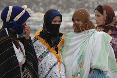 Amazigh girls in Imilchil, Morocco