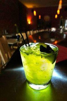 Demonio Verde trago