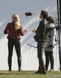 Lol this is the second picture I've found of Colin tossing his hook around