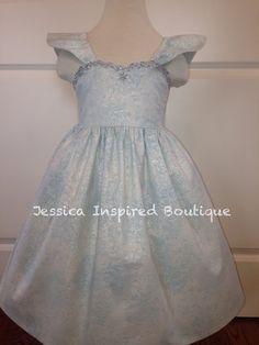Frozen Inspired Queen Elsa Sundress  Elsa Dress by Theresafeller, $60.00