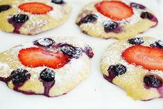 Kwark pizza ontbijtkoekjes – glutenvrij