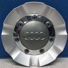 07 08 09 10 11 12 13 Audi Q7 # 58805 OEM Wheel Center Cap Part # 4L0601165 USED #AUDI|hubcaps