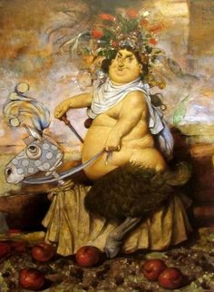 Bacchus was once a very bizarre boy. - Daron Mouradian illustration