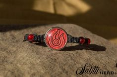 Fire Nation Bracelet by SubtleNerd on Etsy