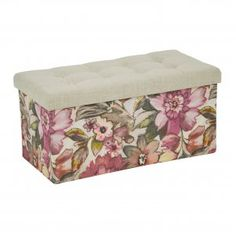 Colette Floral Storage Rectangular Box