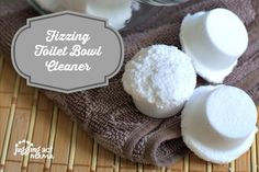 Fizzing Toilet Bowl Cleaner via Juggling Act Mama